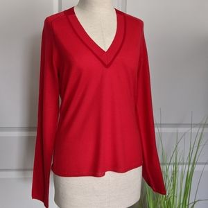 rag & bone 100% Merino Wool Sweater Red Size M NWT
